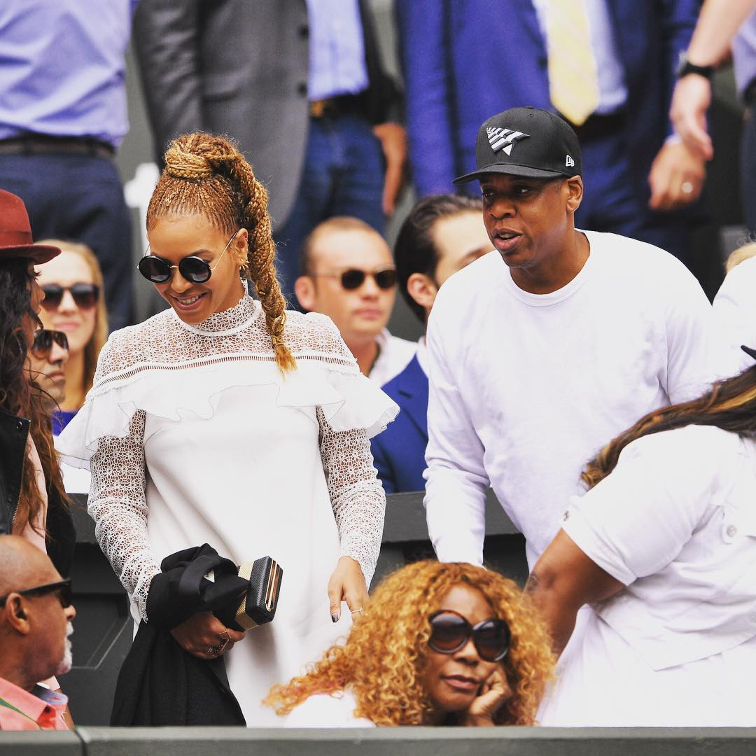 Beyoncé and Jay Z Have a Winning Date at Wimbledon ...