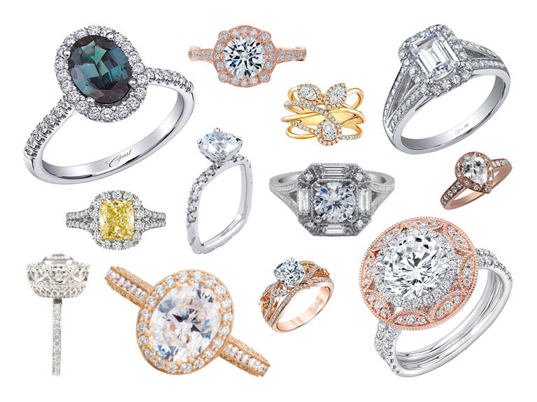 10 Popular Engagement Ring Trends