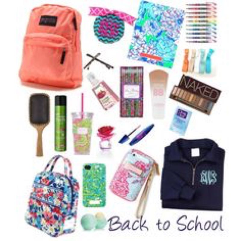 Things you need in your school bag