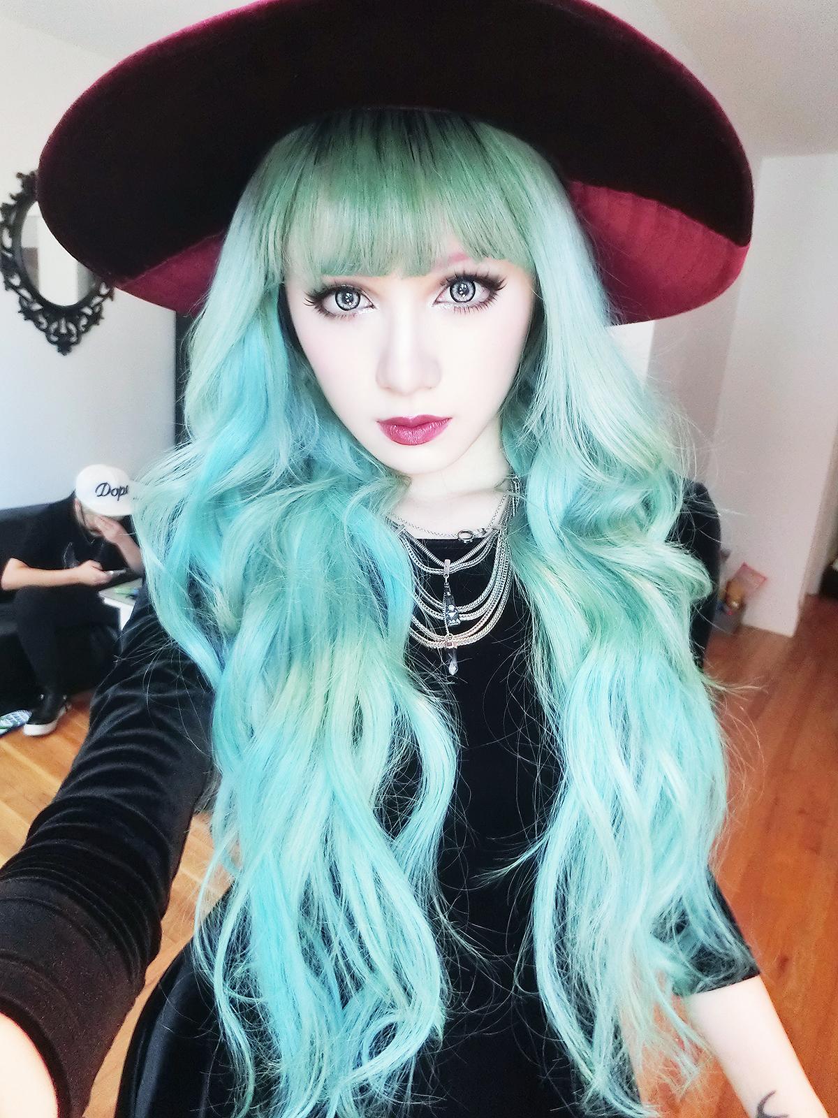 Как покрасить волосы в синий цвет - wikiHow 43
