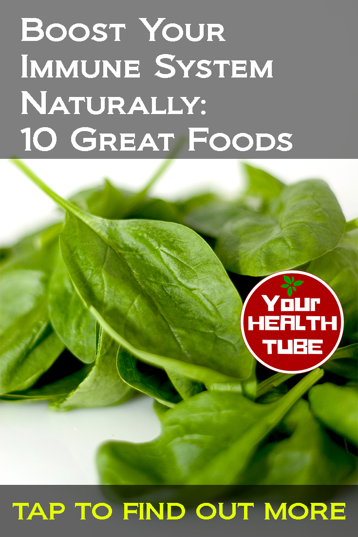 Boost Your Immune System Naturally: 10 Great Foods