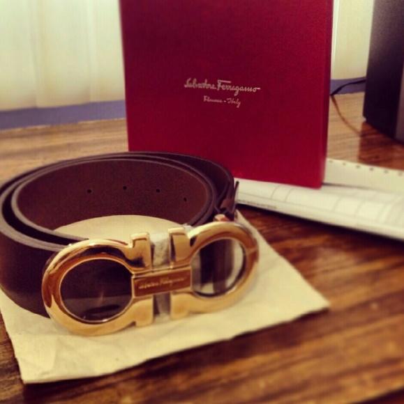 Add a Dash Of Elegance With Salvatore Ferragamo Belts!