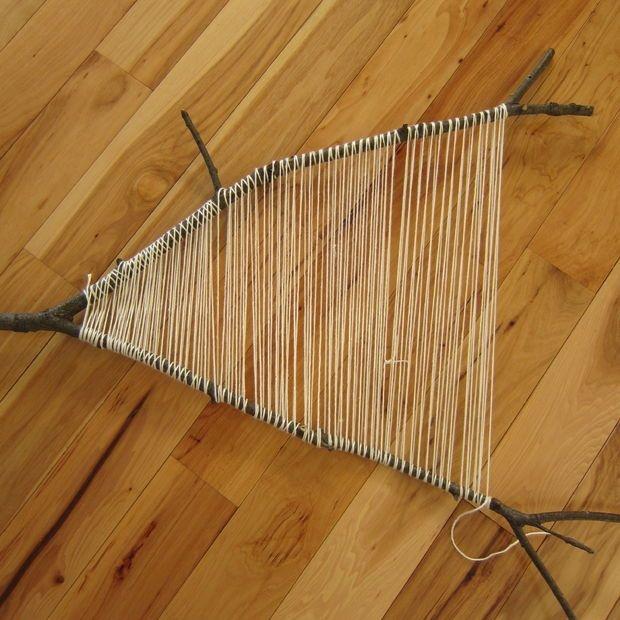 Branch weaving tutorial
