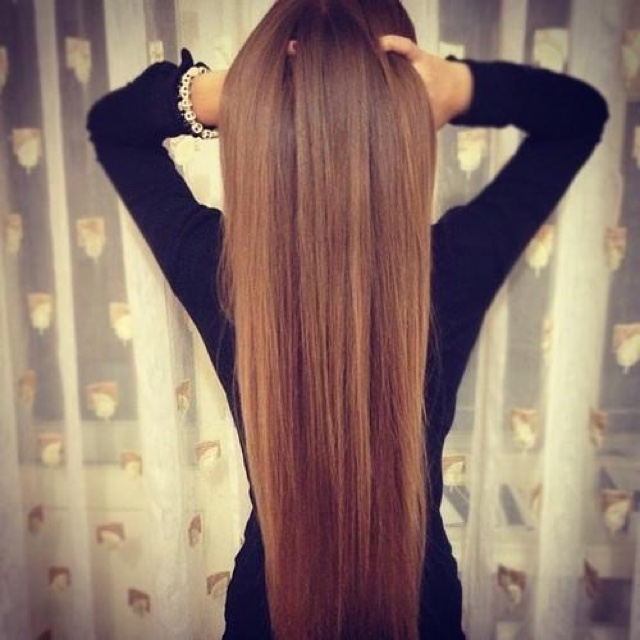 You should try this if you want long hair
