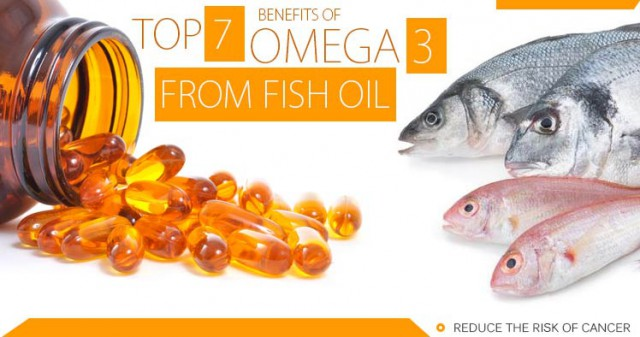 7 Benefits Of Omega 3 From Fish Oil