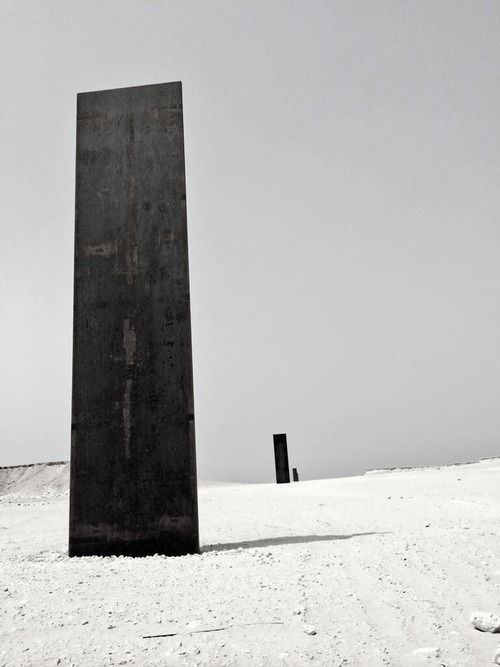 Richard Serra, East-West / West-East in Qatar (2014)