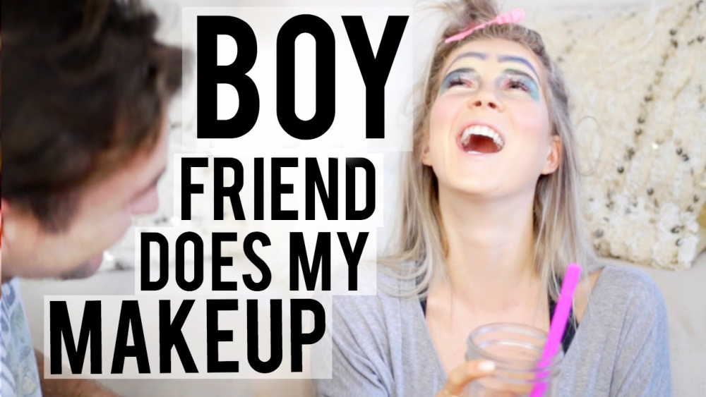 BOY FRIEND DOES MY MAKEUP ♡ 🎥