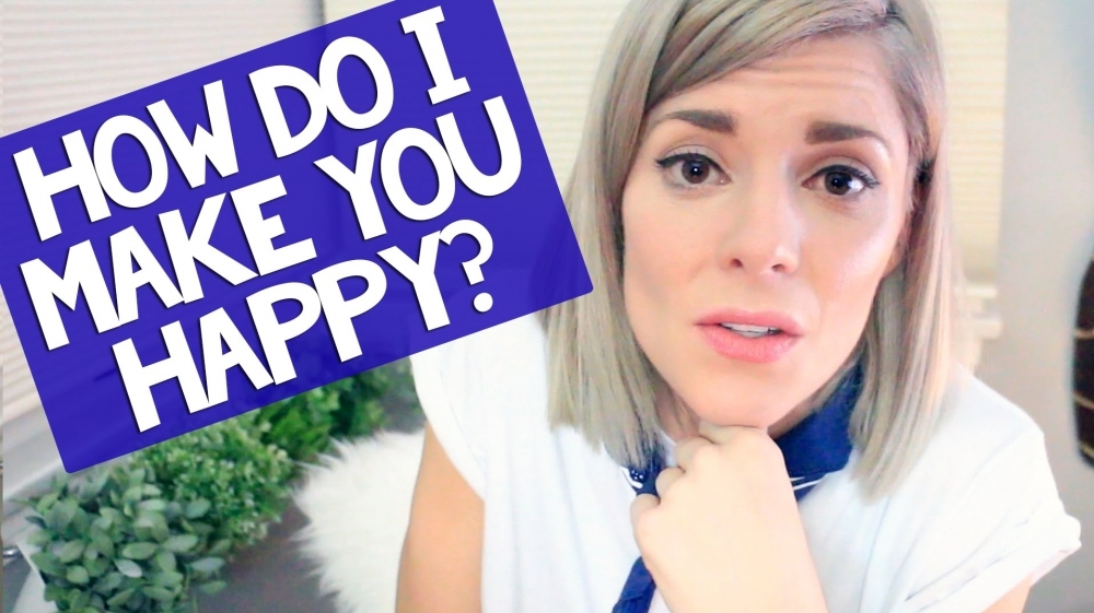 HOW DO I MAKE YOU HAPPY? // Grace Helbig 🎥