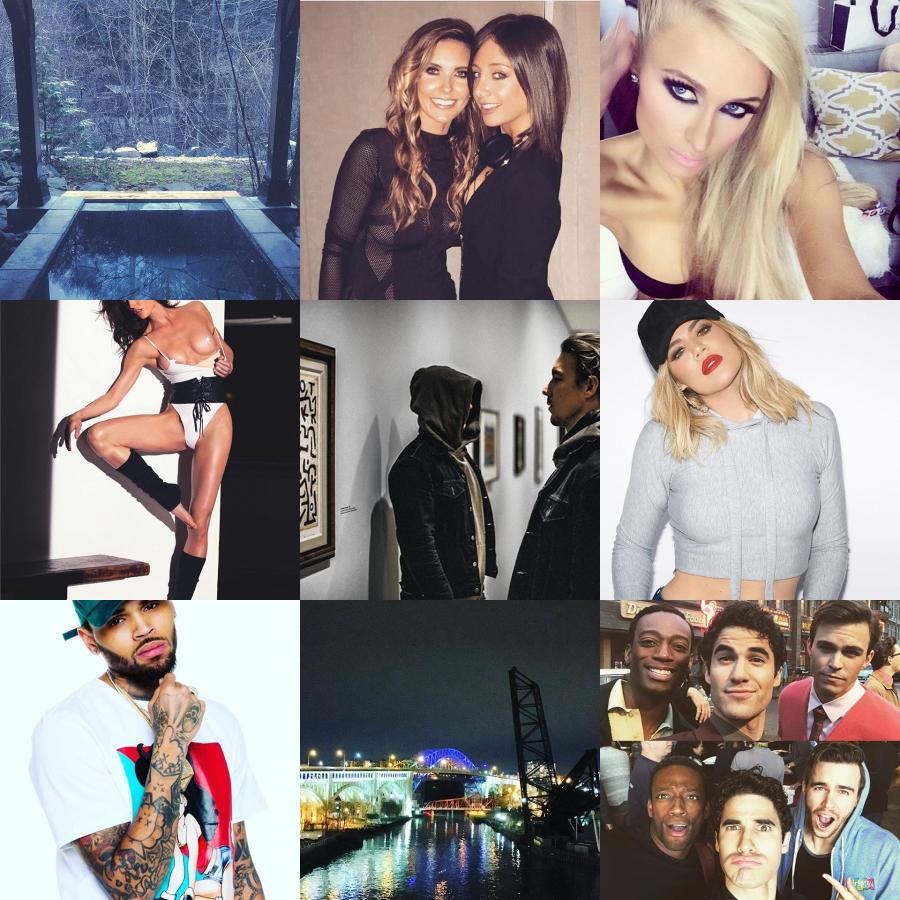 Today Trending on Instagram by Darren Criss, Clams Casino, Mariah Carey ...