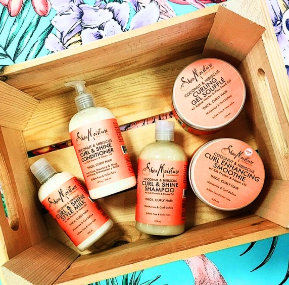 ALL ABOUT SHEA MOISTURE COCONUT & HIBISCUS LINE 🌺