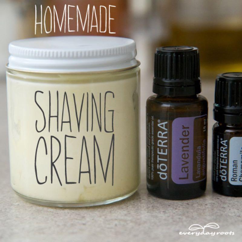 DIY natural shaving cream❤️