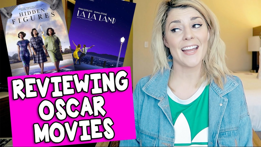 REVIEWING OSCAR NOMINATED MOVIES // Grace Helbig 🎥
