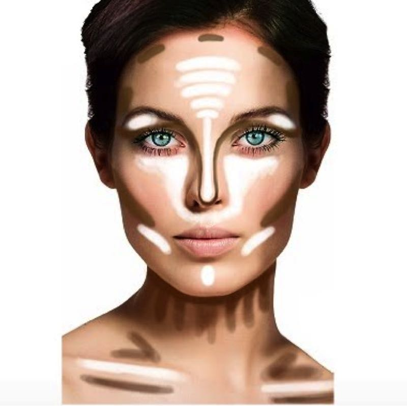 4 Highlights And Contouring Basics You Should Know (Beginners)