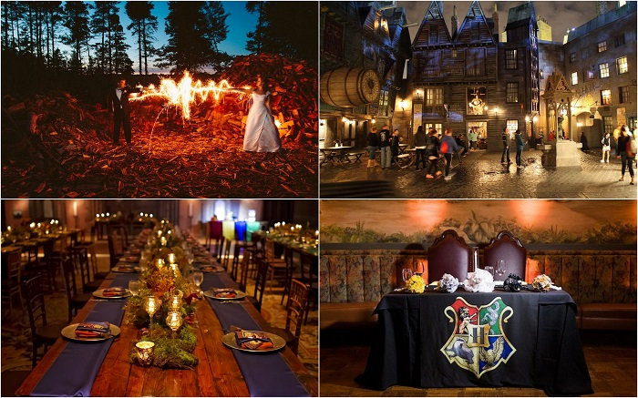 Have you been ing into the Harry Potter world? Well give your wedding a chance to scream you! This Harry Potter themed wedding brings excitement and ... & 5 Wedding Theme Ideas ? Community