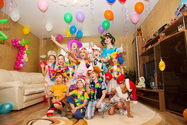 Как отметить день рождения ребенка дома 8 лет