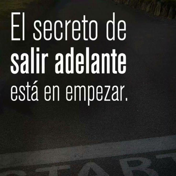 Empezar es el secreto