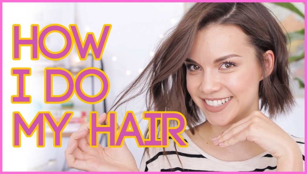 How I Style My Hair! // Textured Waves for Short Hair ◈ Ingrid Nilsen 🎥