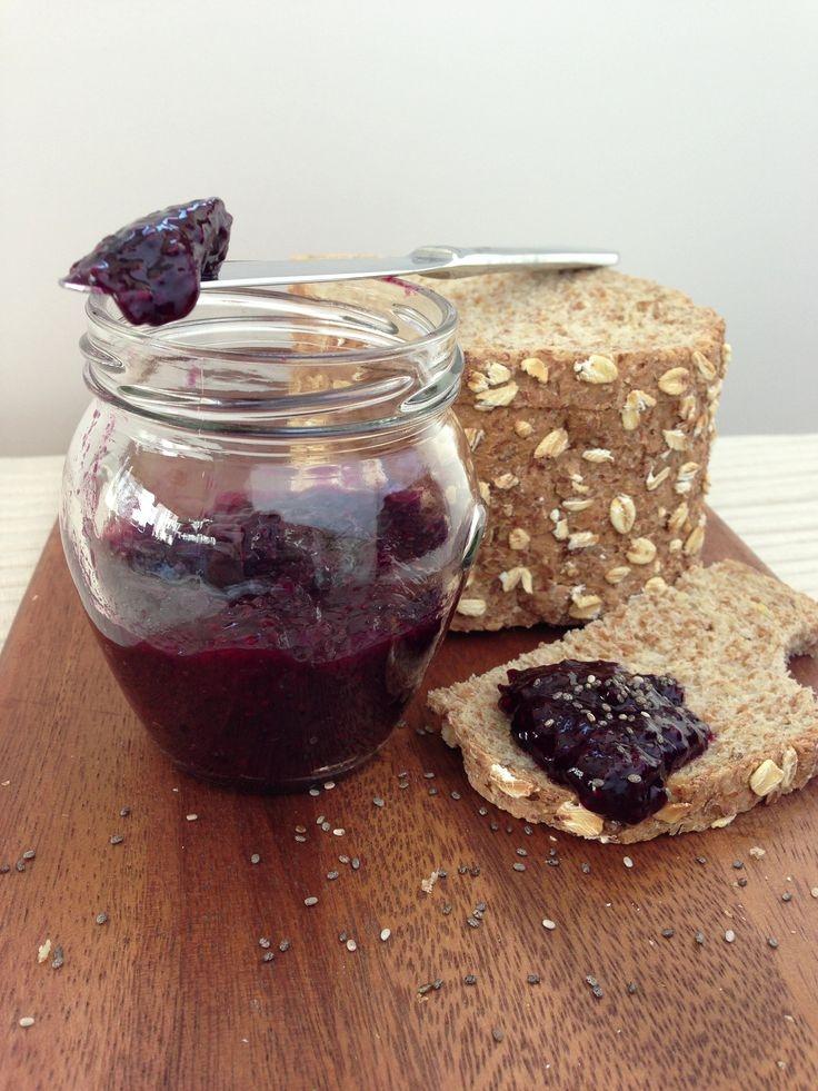 Home made Blueberry Chia Jam