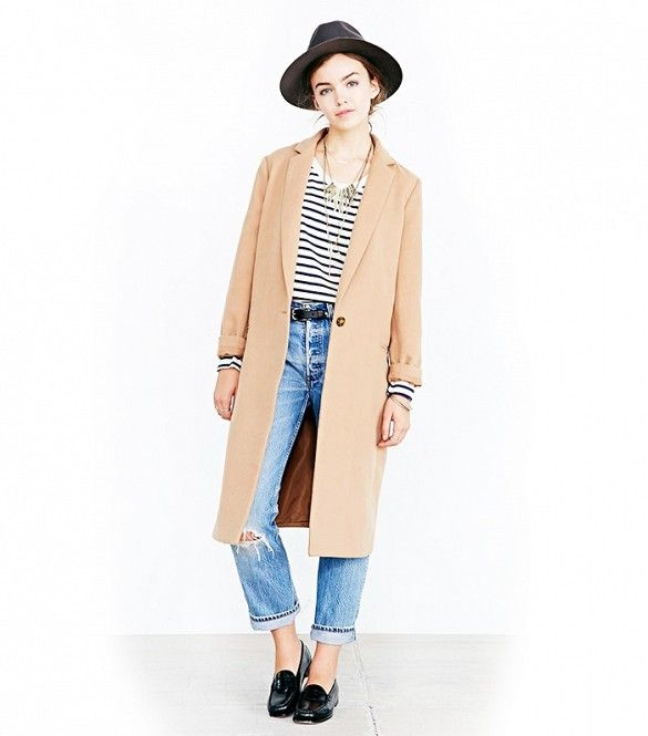 Kimchi Blue Cozy Mid-Calf Duster Coat // #Shopping