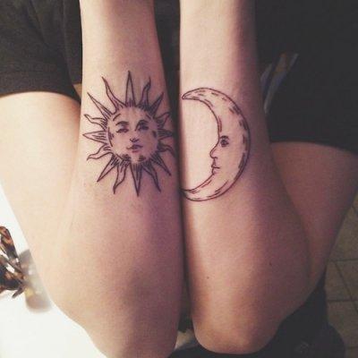 Du Wirst Nicht Glauben Diese 32 Atemberaubende Celestial Tattoos