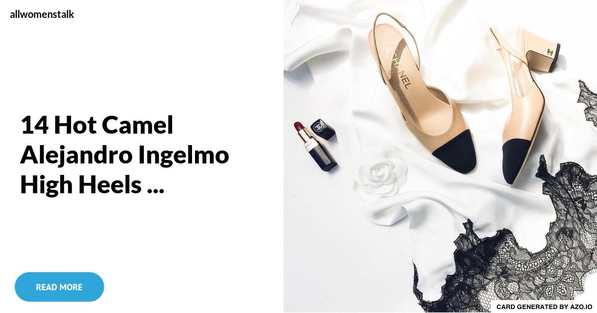 14 Hot Camel Alejandro Ingelmo High Heels
