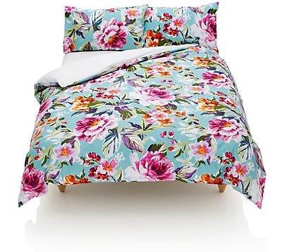 Marks and Spencer Summer Floral Duvet Set