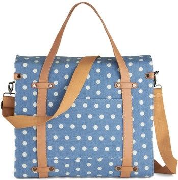 Boxy Polka Dot Bag
