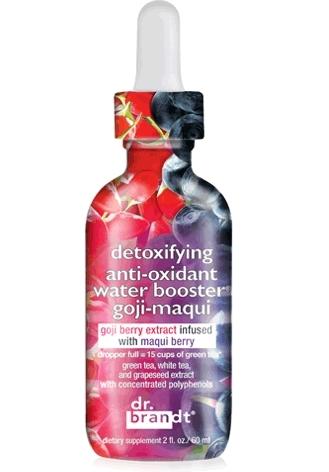 Dr. Brandt Detoxifying anti-oxidant Water Booster Goji-maqui