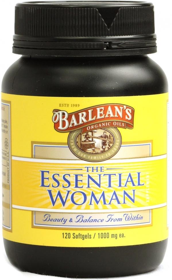 Barlean's Organic Oils the Essential Woman
