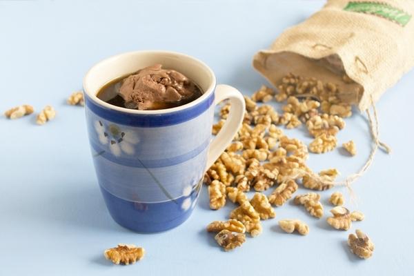 Maple Chocolate Coffee Float
