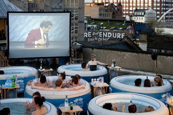 Hot Tub Cinema, UK