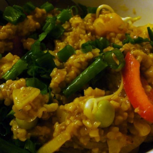 Curry Oatmeal