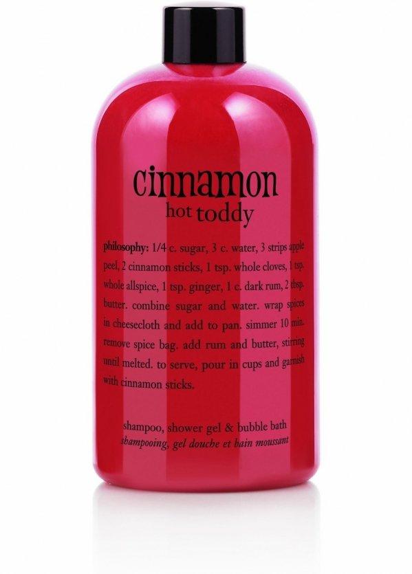 Cinnamon Hot Toddy Shampoo, Shower Gel & Bubble Bath