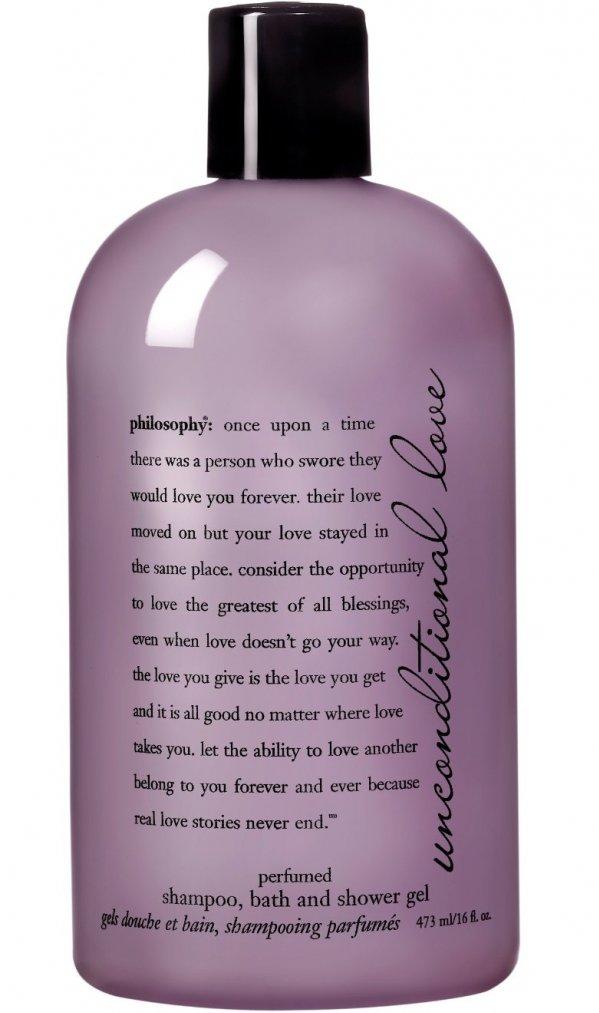 Unconditional Love - Perfumed Shampoo, Bath & Shower Gel
