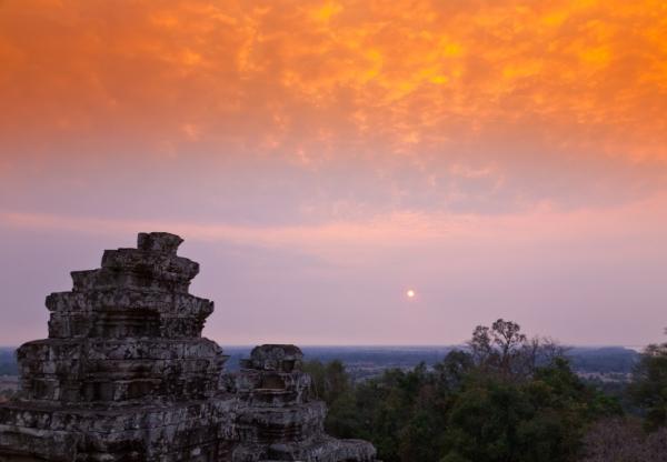 Phnom Bakheng, Angkor, Cambodia