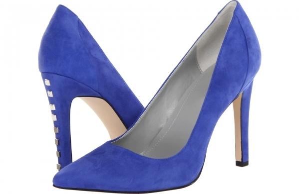 Calvin Klein Balina K Heels in Electric Blue