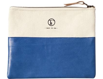 Liba Style Traveler's Clutch in Cornflower Blue