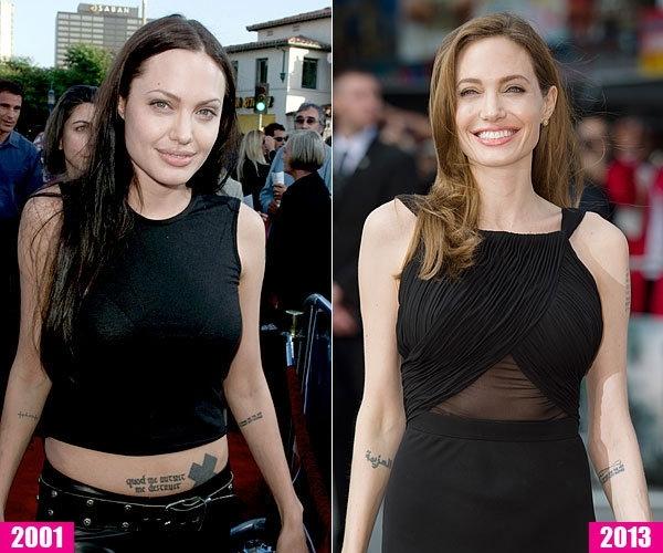 Angelina Jolie…