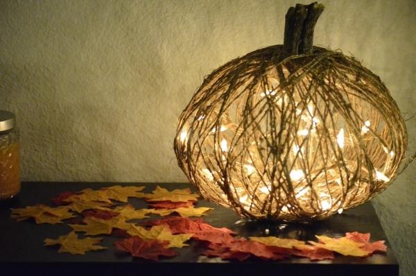 Illuminated Pumpkin