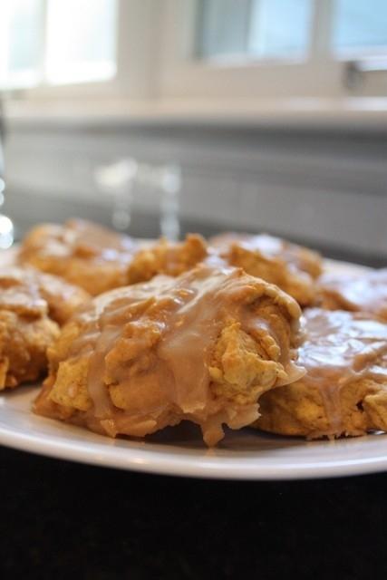 Pumpkin Nut Butter Cookies
