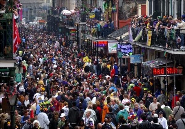 Mardi Gras at Tulane