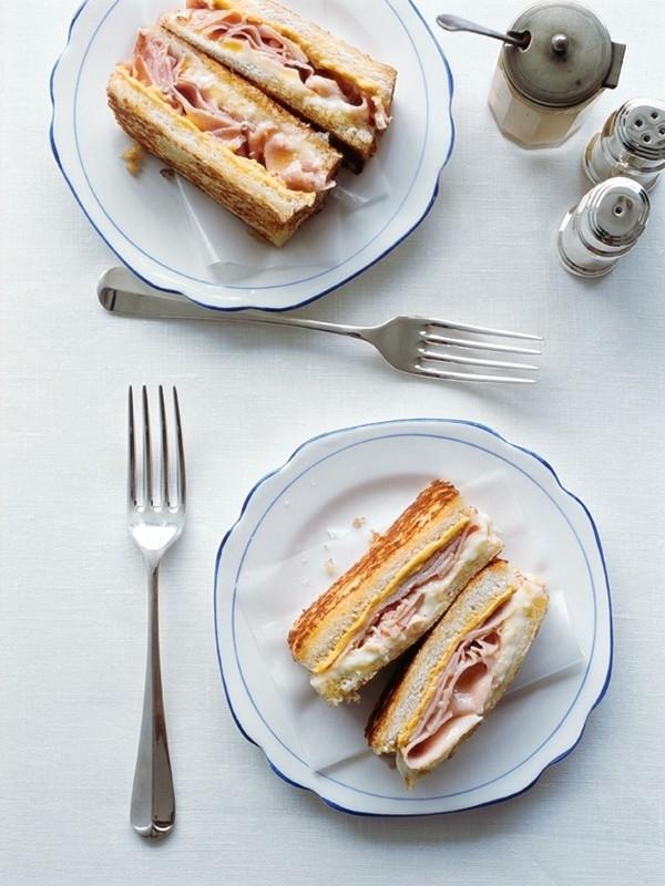 Ham and Cheese Toastie