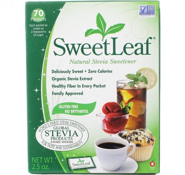 Wisdom Naturals Sweetleaf Stevia