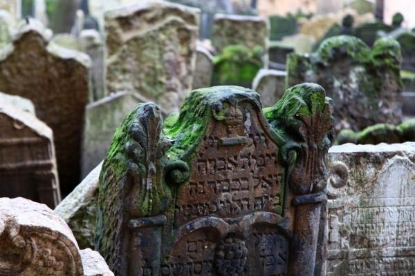 The Old Jewish Cemetery, Czech Republic