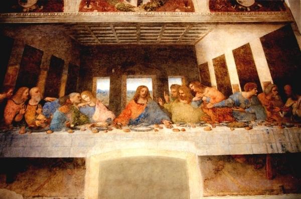 """Leonardo Da Vinci's """"the Last Supper"""""""