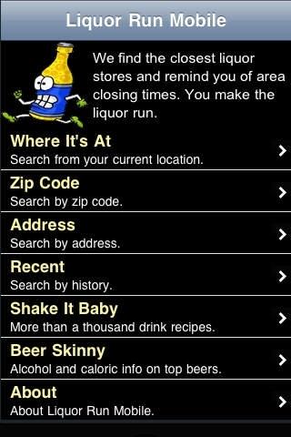 Liquor Run Mobile