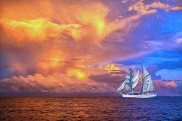 A Sunset Cruise in Bora Bora