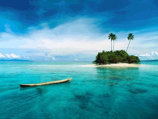 A Private Islet in Fiji