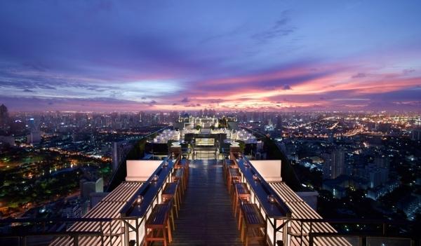 The Vertigo Grill and Moon Bar in Bangkok