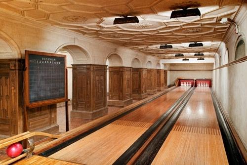 Frick Museum Hidden Bowling Alley